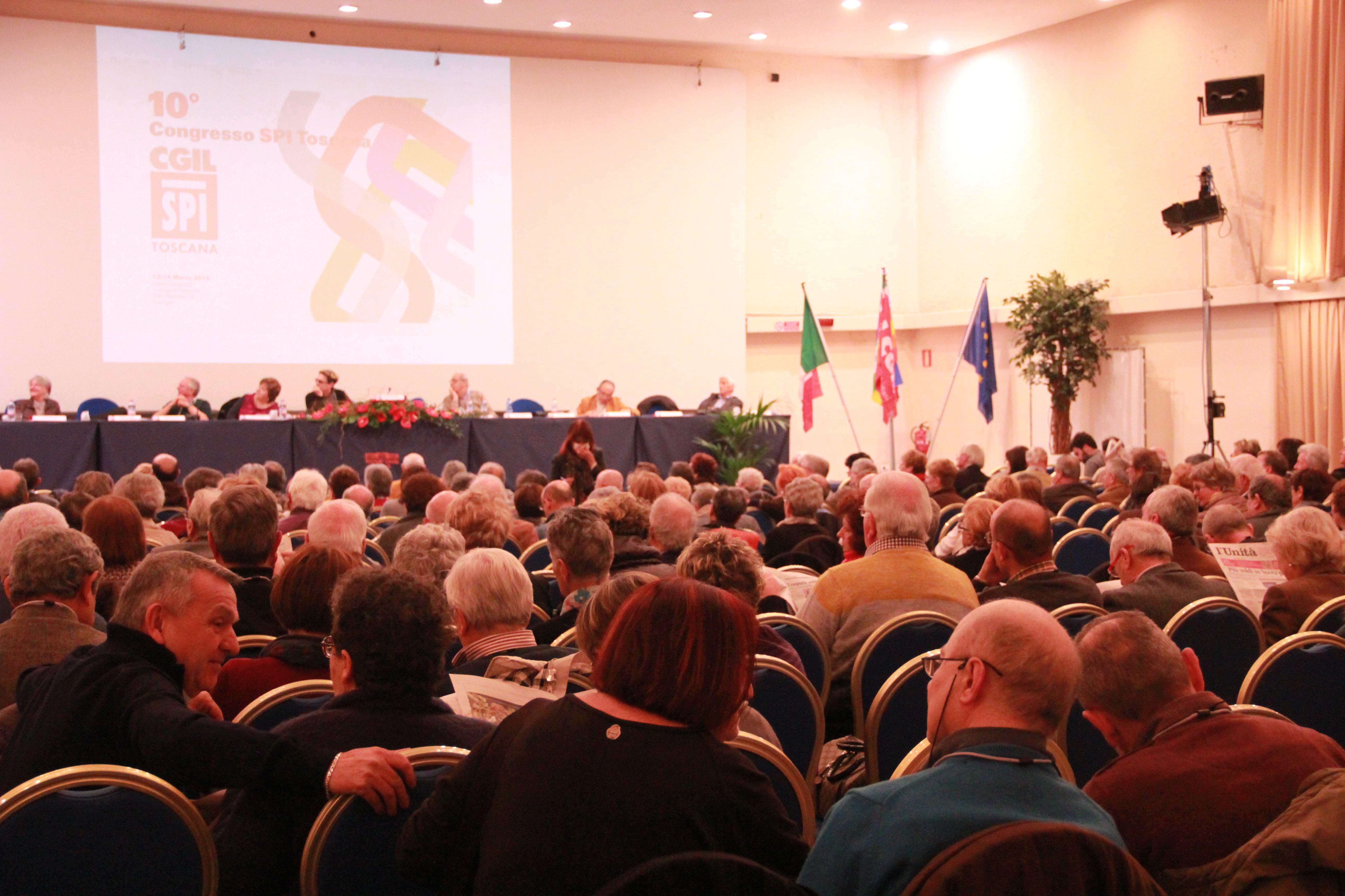 Congresso SPI Toscana a Viareggio
