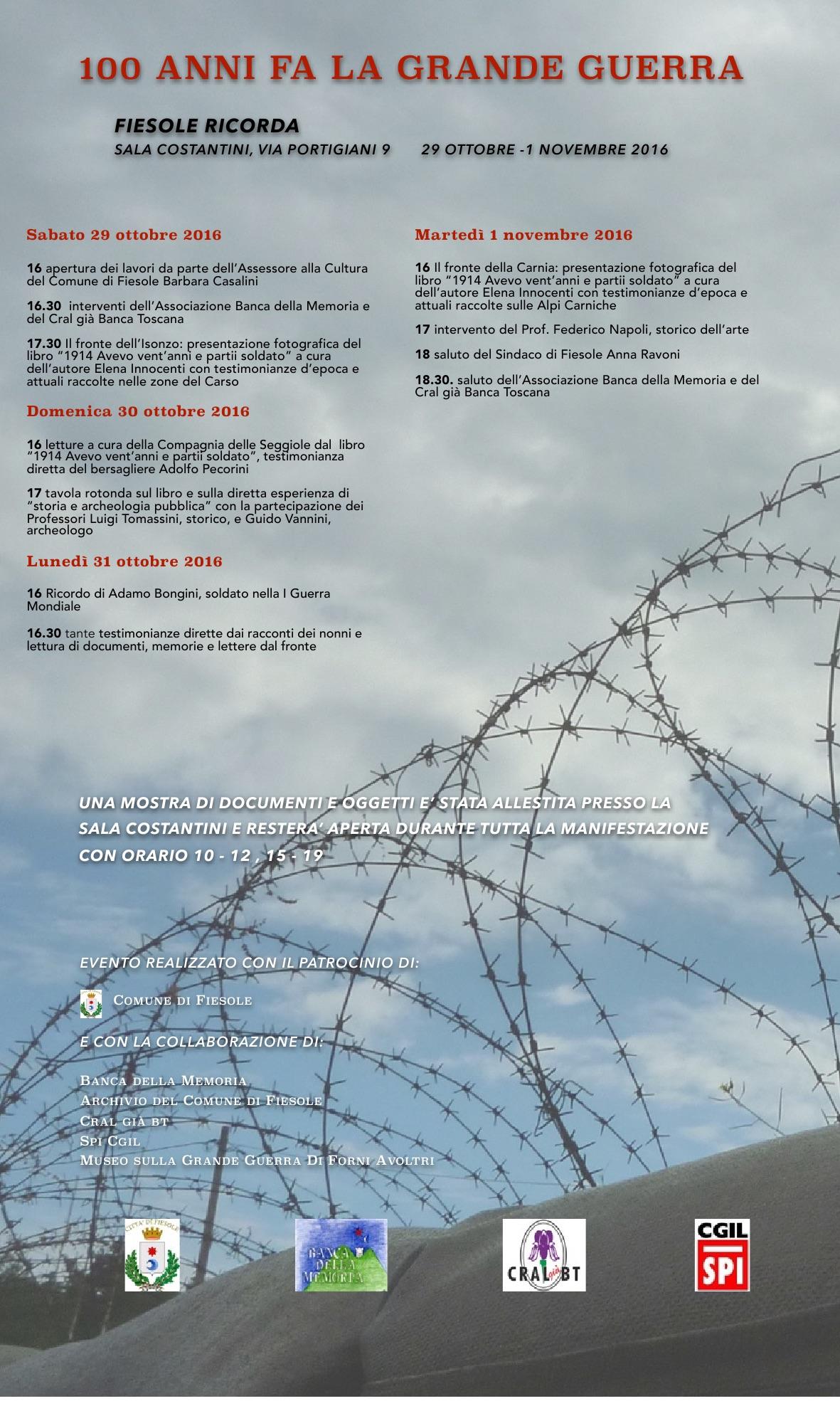 Manifesto Guerra Mondiale