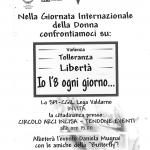 8 marzo 2019 Incisa Valdarno