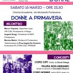 8 marzo 2019 Pontassieve