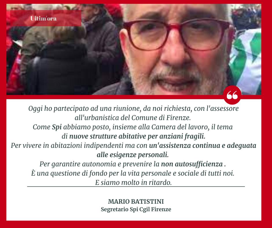 Mario Batistini: prevenire e garantire la non autosufficienza