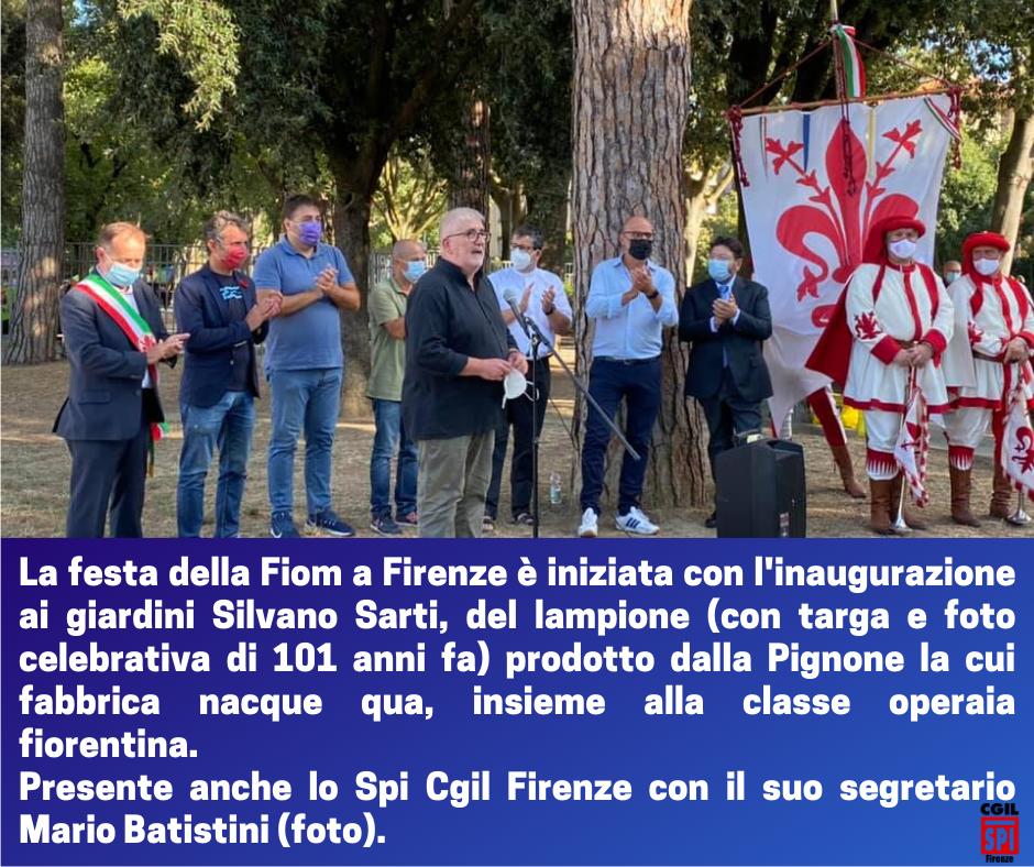 ricordo Pignone Fiom Firenze